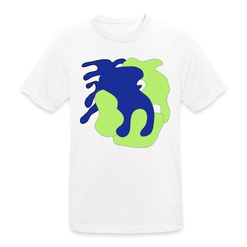 Macchie_di_colore-ai - Maglietta da uomo traspirante