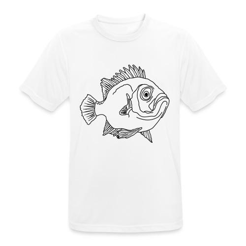Fisch Barsch Ozean Meer Wasser Aquarium Angeln - Männer T-Shirt atmungsaktiv