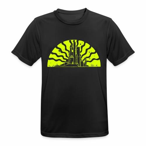 Fairytale Castle Sunrise - Männer T-Shirt atmungsaktiv