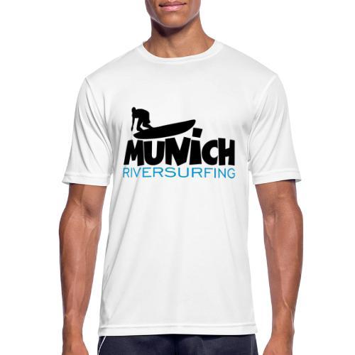 Munich Riversurfing München Surfer - Männer T-Shirt atmungsaktiv