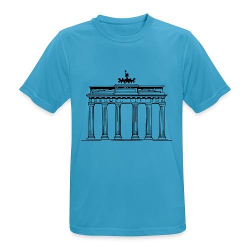 Brandenburger Tor Berlin Victoria Streitwagen - Männer T-Shirt atmungsaktiv