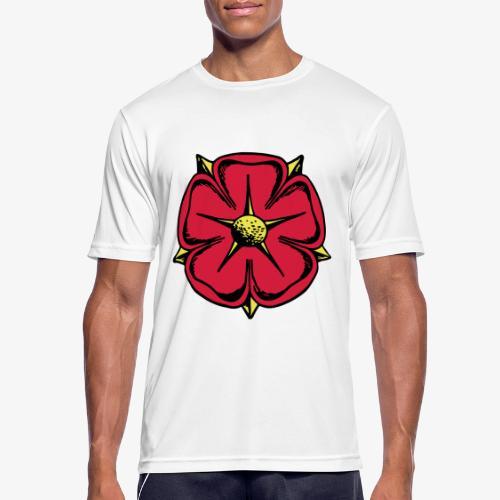 Lippische Rose - Männer T-Shirt atmungsaktiv