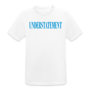 UNDERSTATEMENT - Maglietta da uomo traspirante
