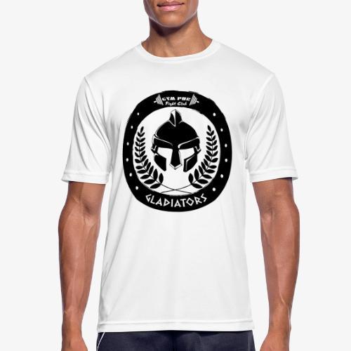 Gym Pur Gladiators Logo - Men's Breathable T-Shirt