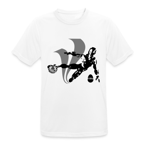 Football Robot - Maglietta da uomo traspirante