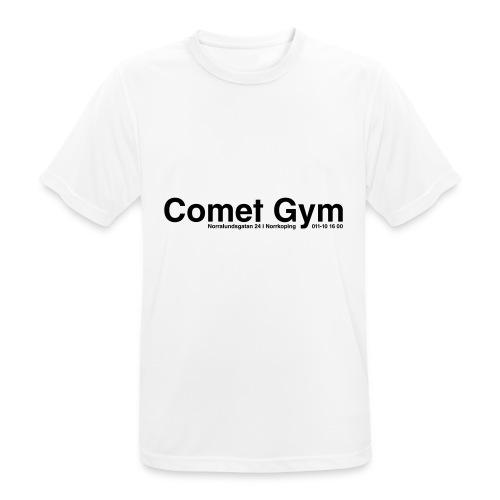 cometgym logga - Andningsaktiv T-shirt herr