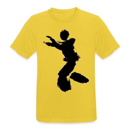 Wing Chun / Kung Fu Tusche Figur VEKTOR - Men's Breathable T-Shirt