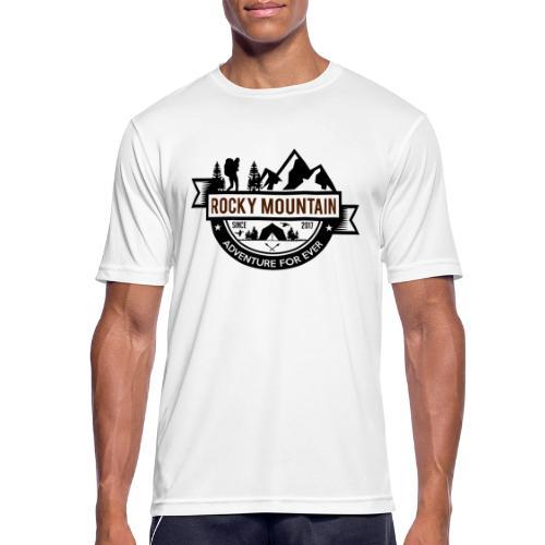 ROCKY MOUNTAIN - Maglietta da uomo traspirante