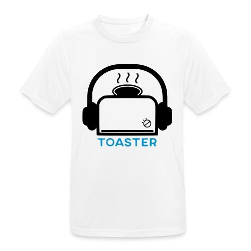 Toaster Logo - miesten tekninen t-paita
