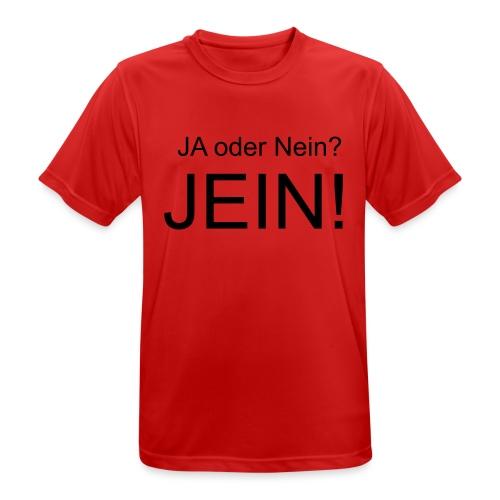 JEIN! - Männer T-Shirt atmungsaktiv