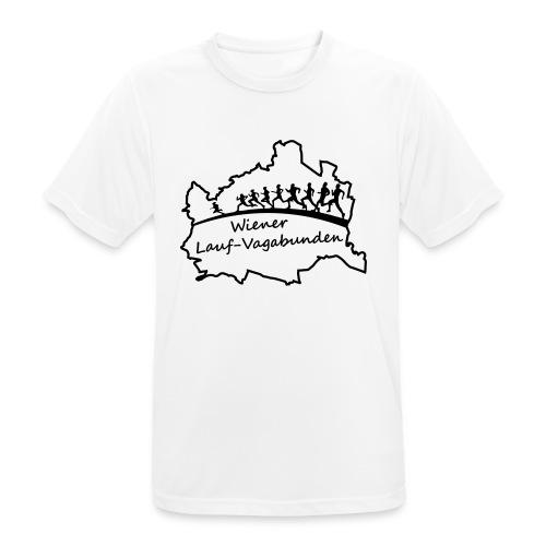 Laufvagabunden T Shirt - Männer T-Shirt atmungsaktiv