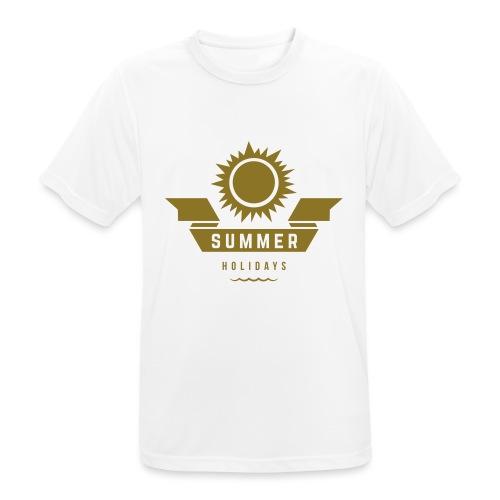 Summer holidays - miesten tekninen t-paita
