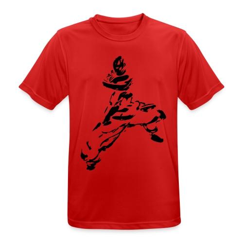 kungfu - Men's Breathable T-Shirt
