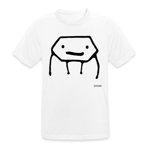 Strichmännchen - Männer T-Shirt atmungsaktiv