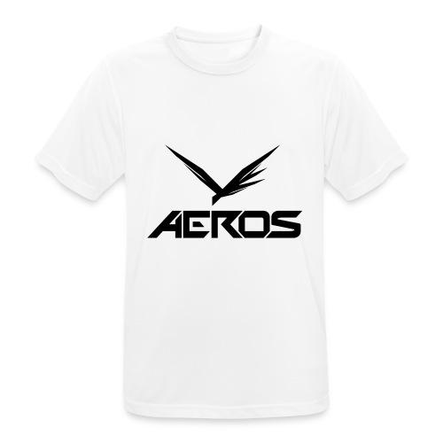 Aeros LOGO 2016 final - mannen T-shirt ademend