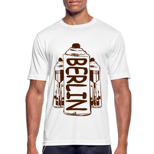 Berlin Power - Männer T-Shirt atmungsaktiv