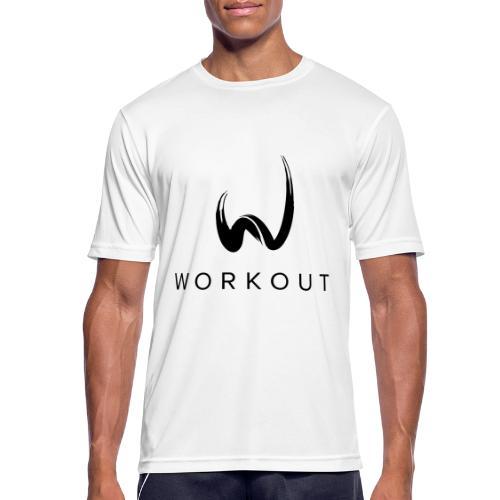Workout mit Url - Männer T-Shirt atmungsaktiv