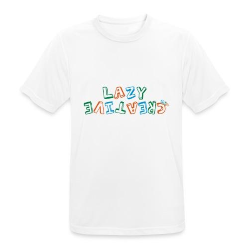 LC PUM Org logo White - Andningsaktiv T-shirt herr