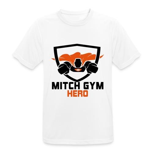 FLYING HERO - Mannen T-shirt ademend actief