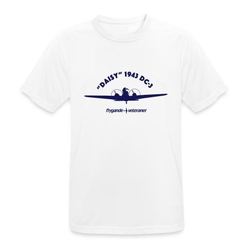 Daisy front silhouette 1 - Andningsaktiv T-shirt herr