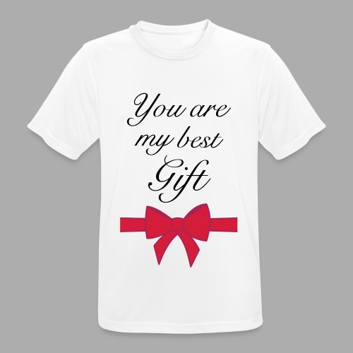you are my best gift - Men's Breathable T-Shirt