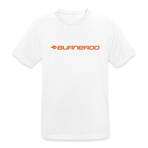 logo_burneroo_orange - Männer T-Shirt atmungsaktiv
