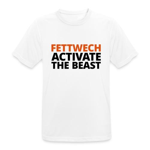 Fettwech Active the Beast - Männer T-Shirt atmungsaktiv