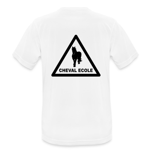 chevalecoletshirt - T-shirt respirant Homme