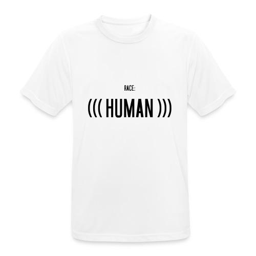 Race: (((Human))) - Männer T-Shirt atmungsaktiv