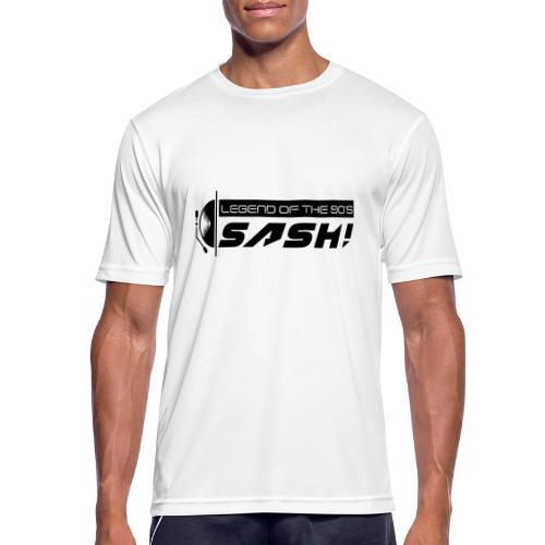 DJ SASH! Turntable 2020 Logo - Men's Breathable T-Shirt