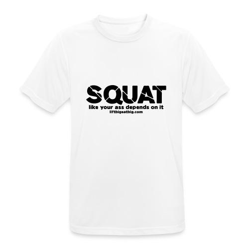 squat - Men's Breathable T-Shirt