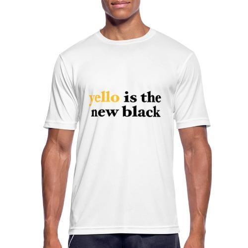 yello is the new black - Männer T-Shirt atmungsaktiv