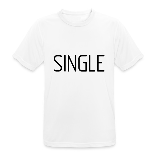 Single - Männer T-Shirt atmungsaktiv