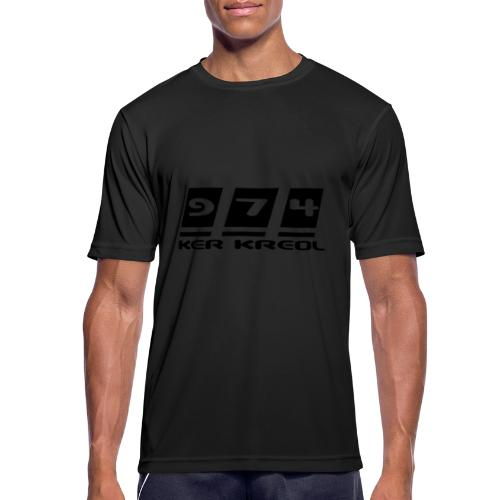 Ecriture 974 Ker Kreol - T-shirt respirant Homme