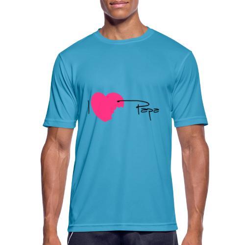 I love Papa 13 Vecto - T-shirt respirant Homme