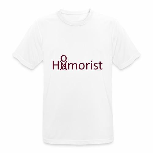 HuOmorist - Männer T-Shirt atmungsaktiv