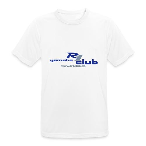 R1club Logo blau - Männer T-Shirt atmungsaktiv