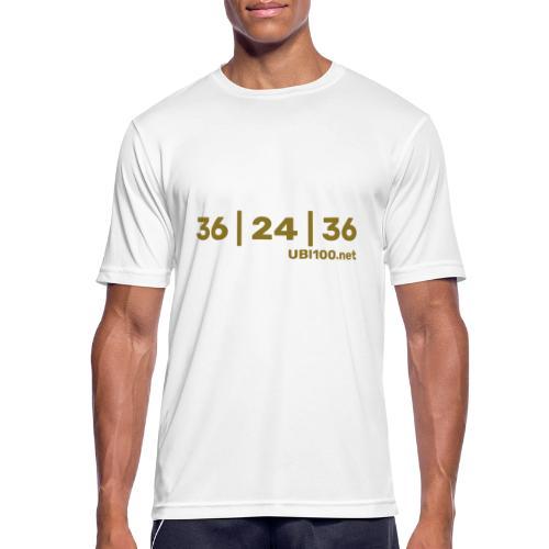 36 | 24 | 36 - UBI - Men's Breathable T-Shirt
