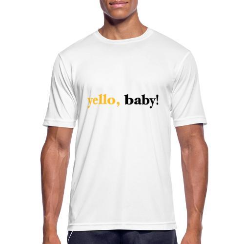 yello baby - Männer T-Shirt atmungsaktiv