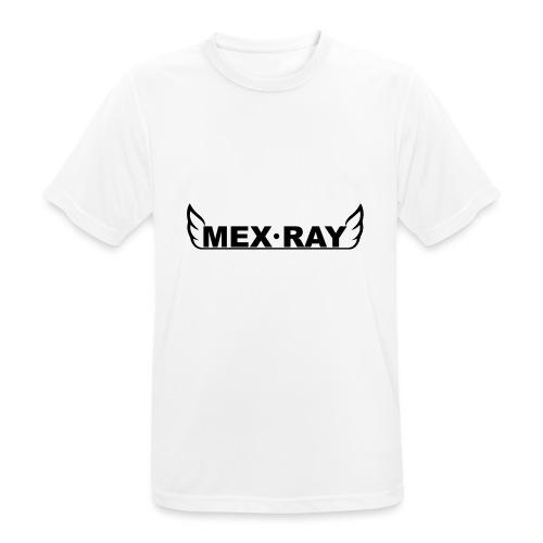 Black full - Mannen T-shirt ademend actief