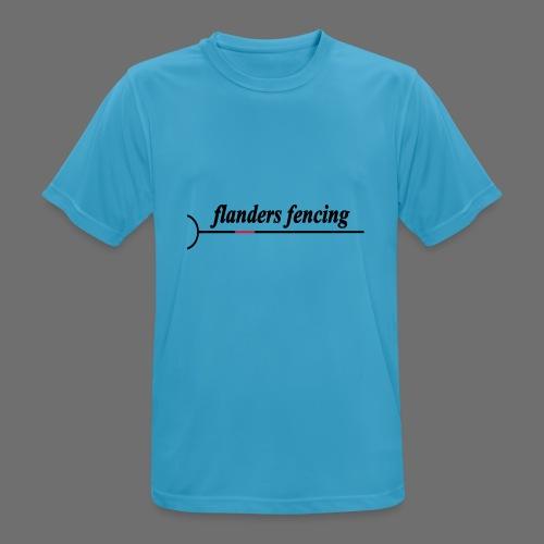 Flanders Fencing - Mannen T-shirt ademend actief
