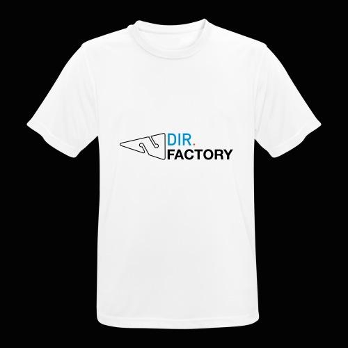 Logo mit Arrow DESIGN - Männer T-Shirt atmungsaktiv
