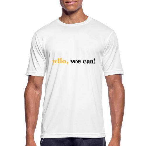 yello we can - Männer T-Shirt atmungsaktiv