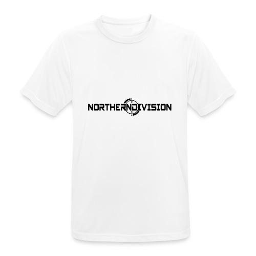 ND CROSSHAIR_TEKSTI_2017 - miesten tekninen t-paita
