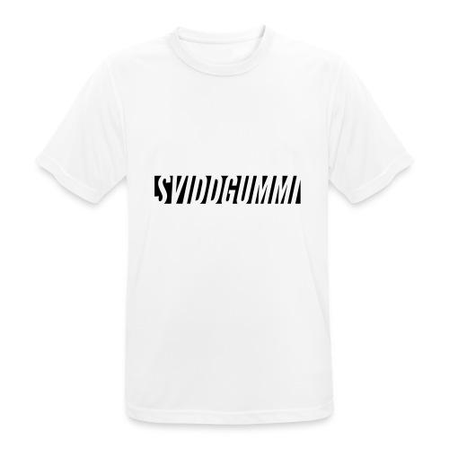Uten_navn-2 - Pustende T-skjorte for menn