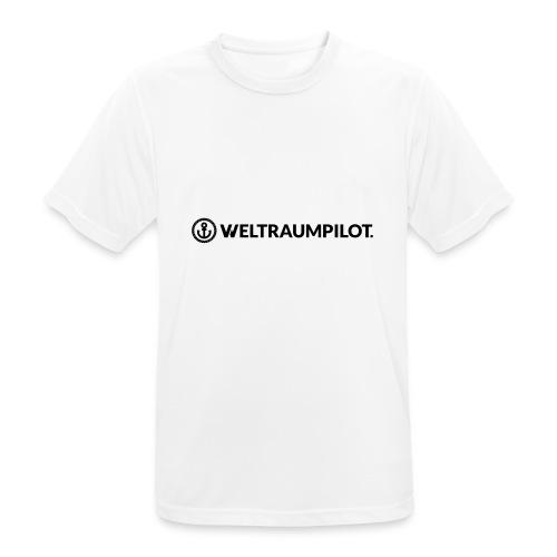 weltraumpilotquer - Männer T-Shirt atmungsaktiv