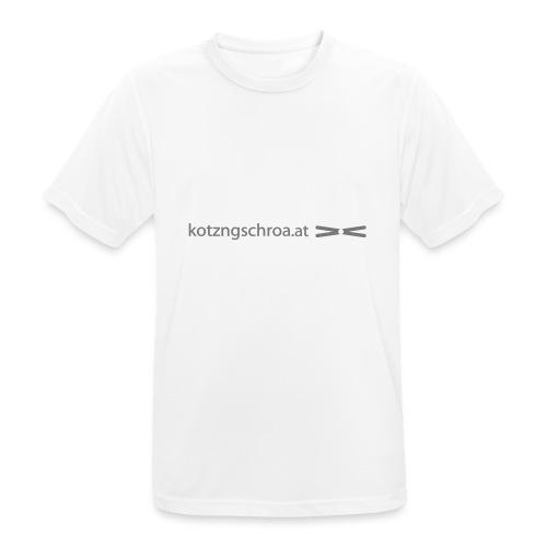kotzngschroaat motiv - Männer T-Shirt atmungsaktiv