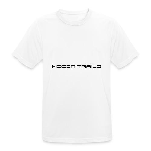 hidden trails - Männer T-Shirt atmungsaktiv