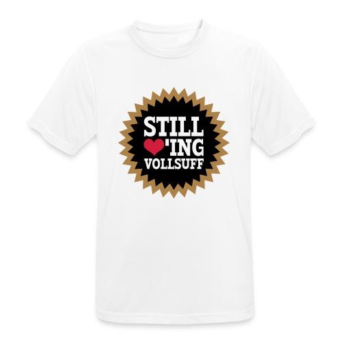 Vollsuff - Männer T-Shirt atmungsaktiv