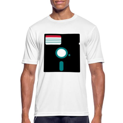 5 1/4 inch floppy disk - miesten tekninen t-paita